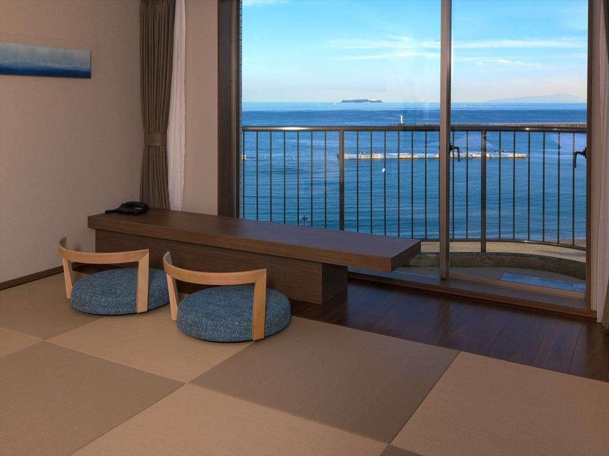 9階プレミアムビュールーム(和洋室)*畳スペースからの景色