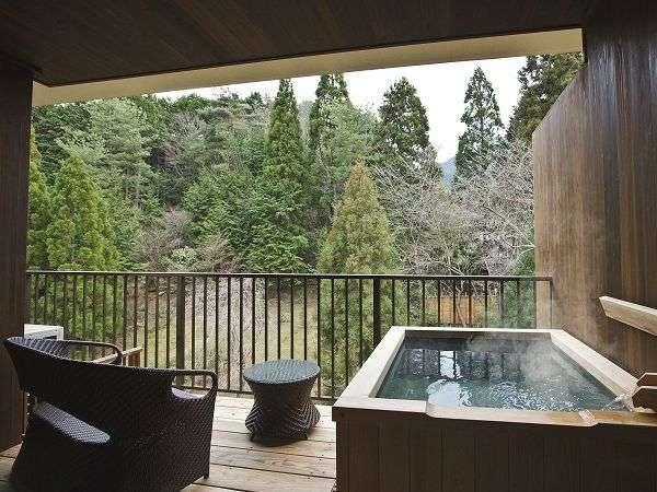 ■温泉露天風呂付和室ツイン<禁煙>■