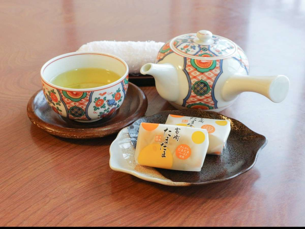 *【お部屋】温かいお茶でほっとひといき♪