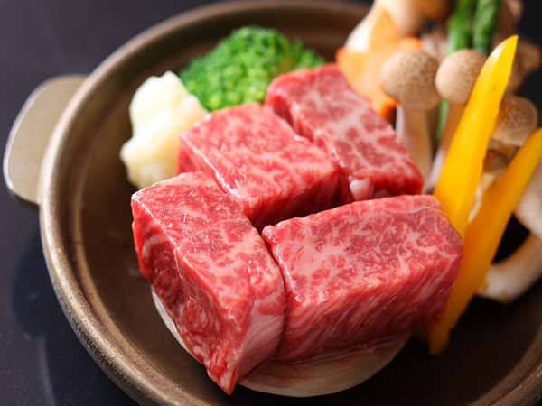 選べる仙台牛料理。(ステーキ例)
