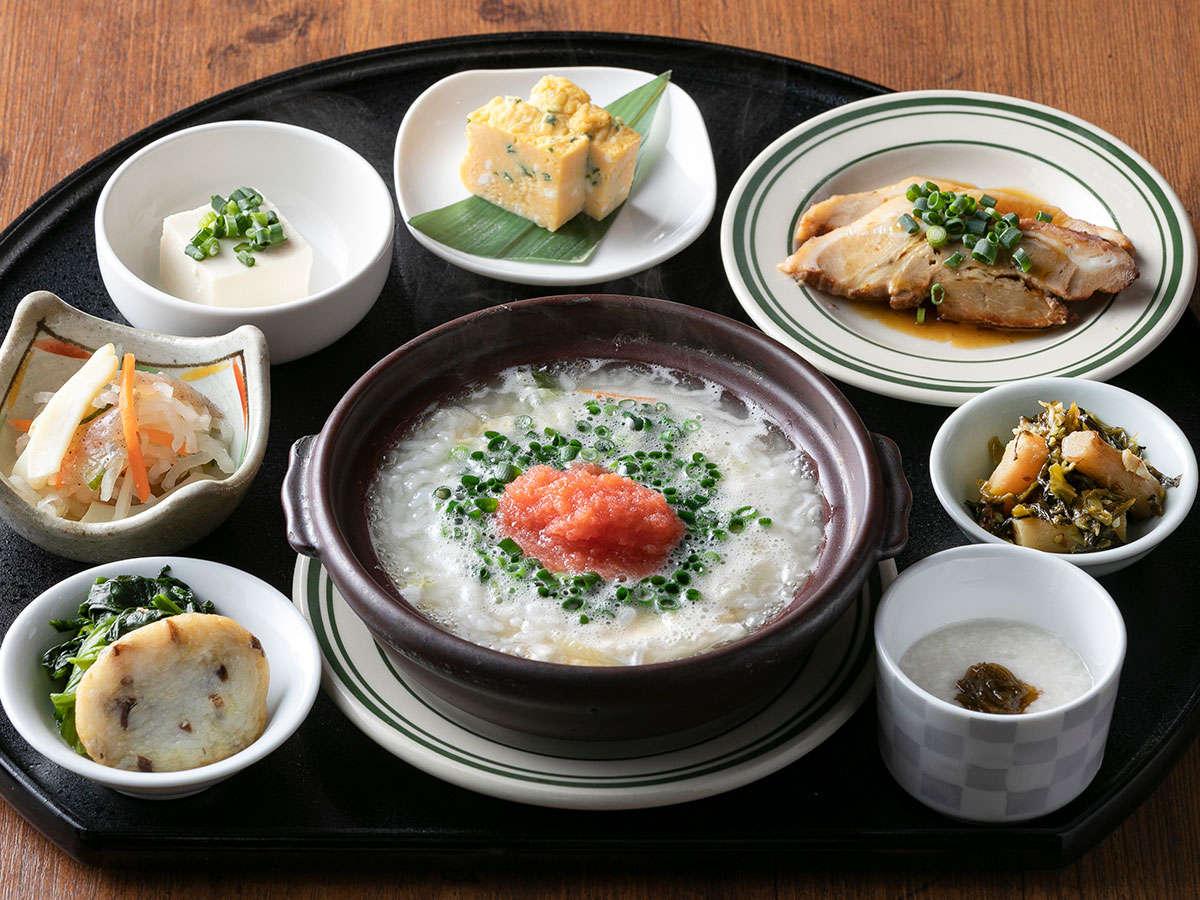 和洋から選べるセットメニュー朝食【和食】旬の食材をふんだんに使った和食御膳