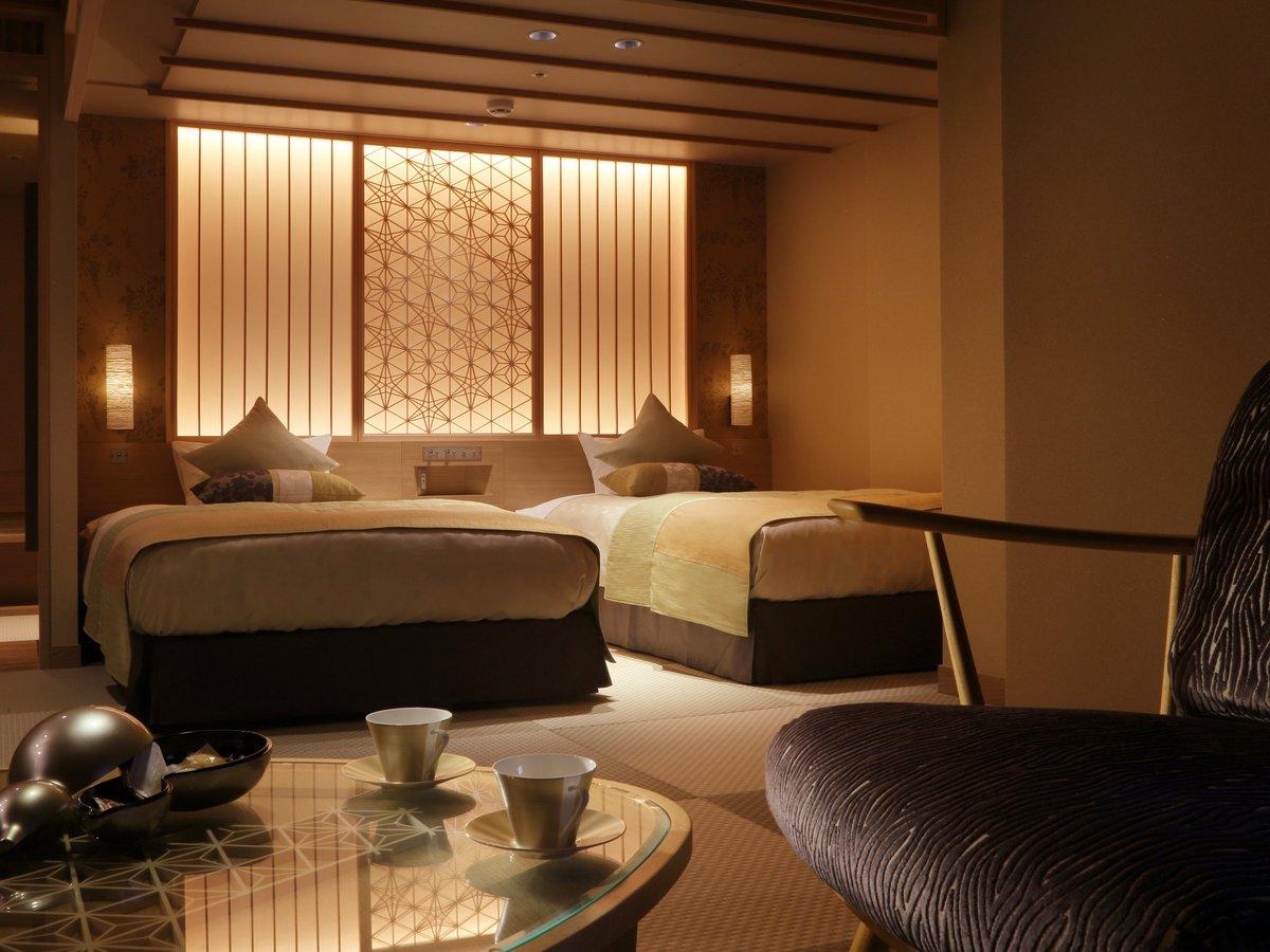 ◆【禁煙】秀峰館最上階■眺望風呂付■和洋室「雅」
