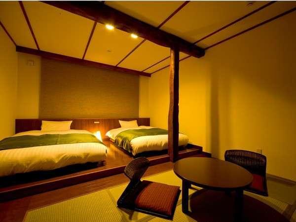 【和風モダン23㎡】2人利用にちょうど良い広さのお部屋。シャワー無となります。