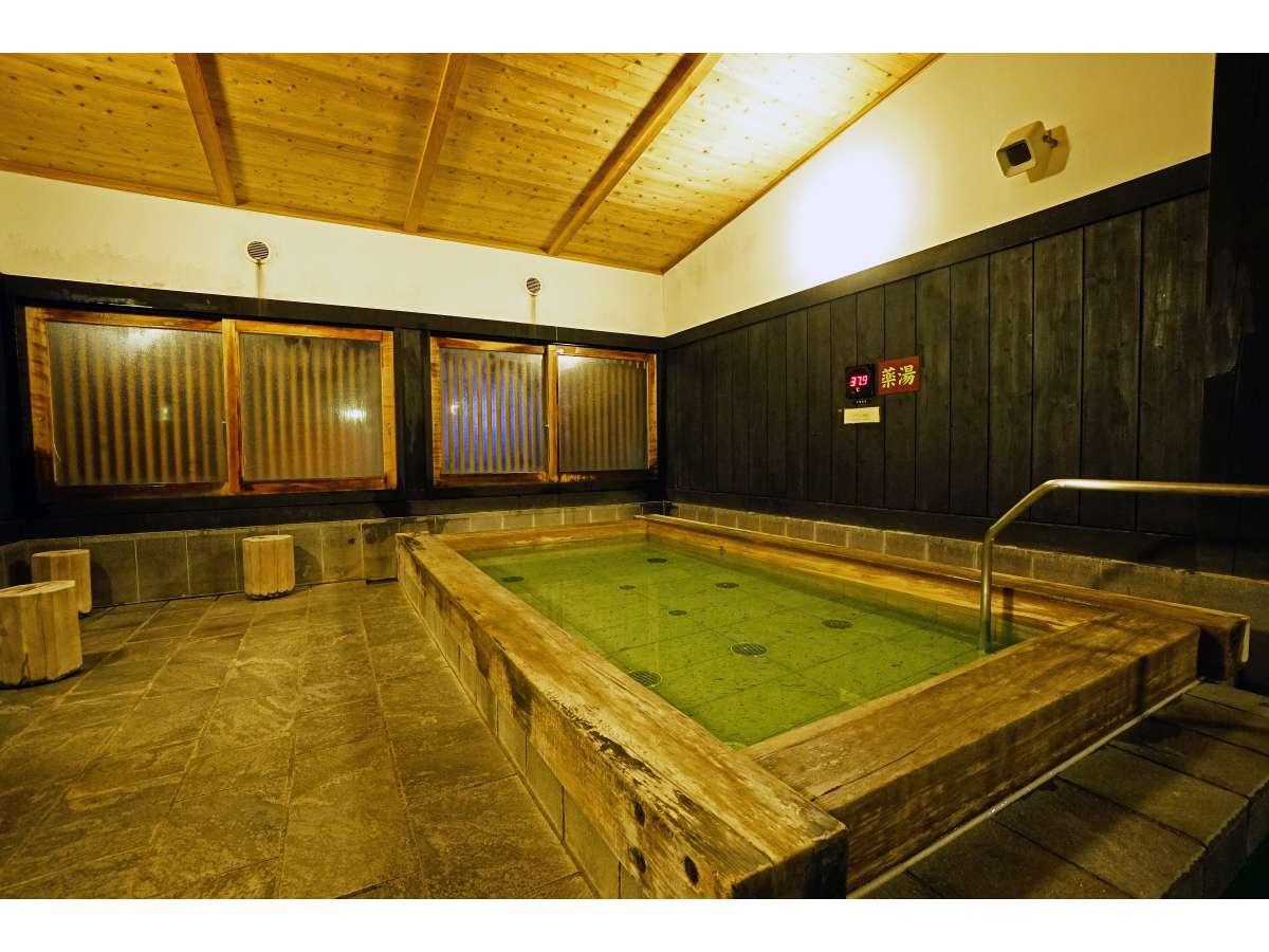 地下水と入浴剤を組み合わせた日替わり湯で、バラエティ豊富な浴槽をお愉しみいただけます。