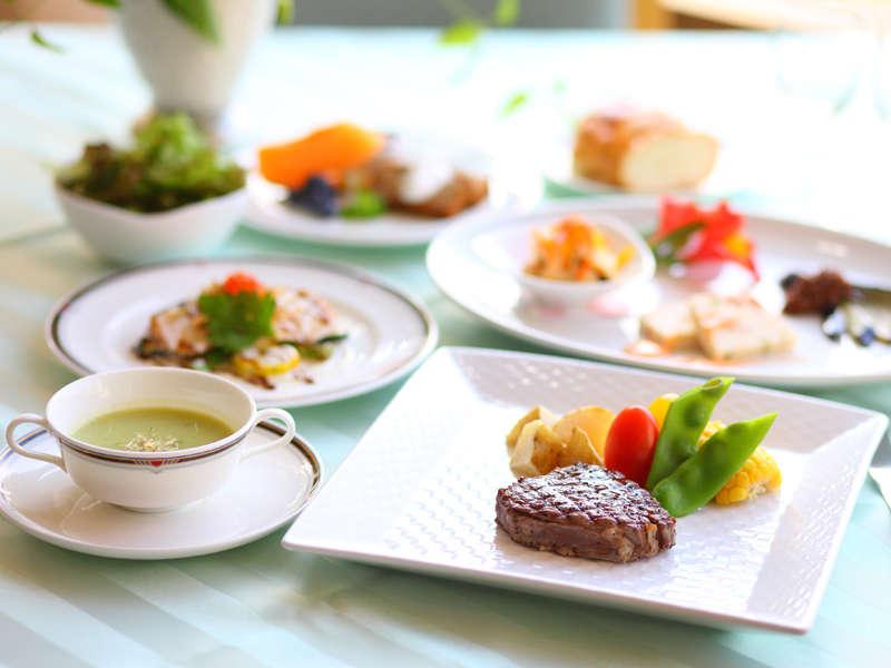 【洋食一例】新鮮!採れたて野菜を使ったお料理の数々(イメージ)