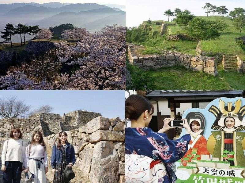 3月1日竹田城開門♪春~初夏の竹田城は美しい季節です。インスタ映えする町屋ステイを♪