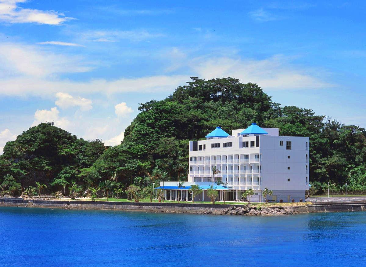海に囲まれた孤島(山羊島)♪