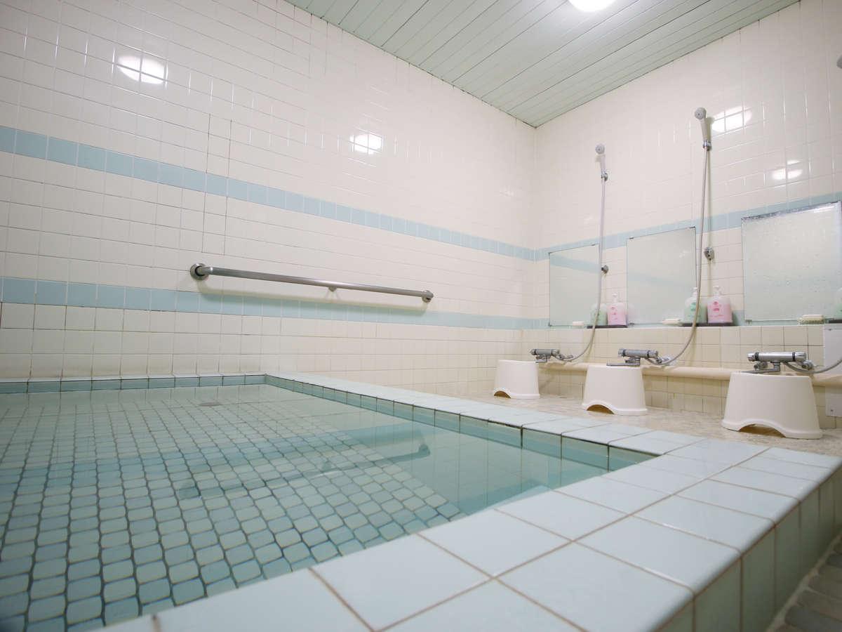 ■お風呂_準天然温泉【光明石温泉】肌に優しい温泉です。