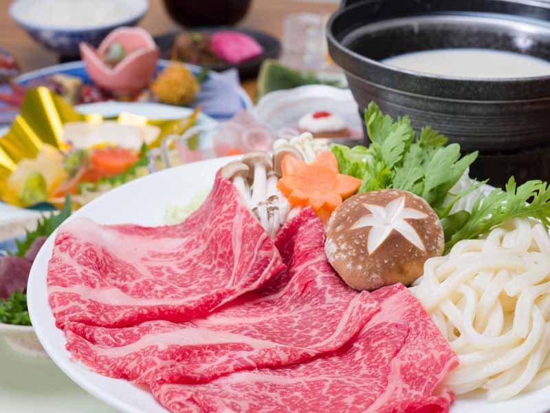 *栃木県産牛の豆乳しゃぶしゃぶ会席/白だし+豆乳でいただく栃木県産和牛 贅沢なひと時をお過ごし下さい