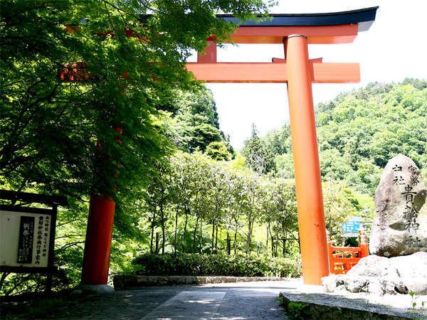 縁結びで有名な貴船神社までは当館より徒歩3分♪