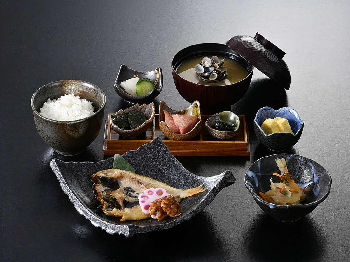 石見の食材にこだわった和定食です