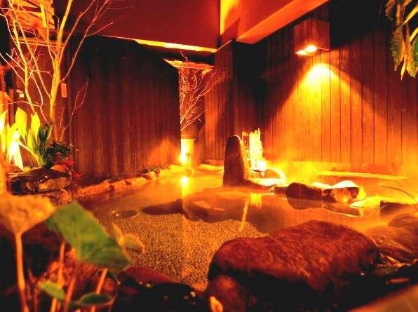 ◆露天風呂☆夜