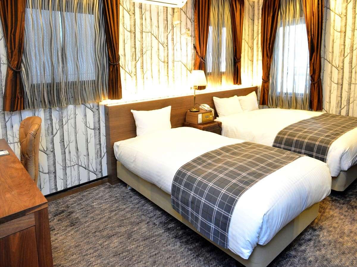 【客室】リグナルーム 24平米 ベッド幅110cm&150cm