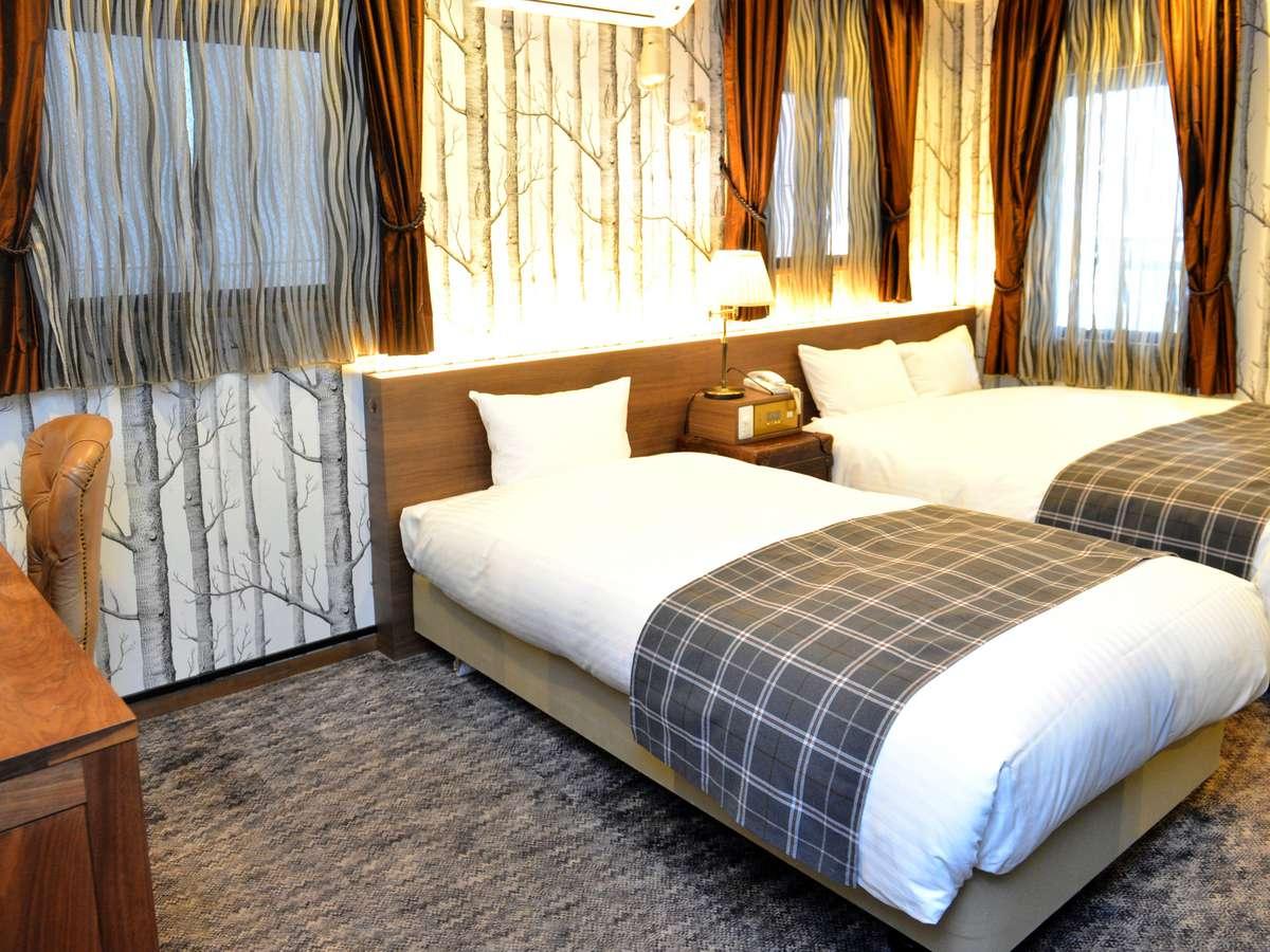 1室限定【リグナルーム】24㎡ ベッド幅110㎝&150㎝