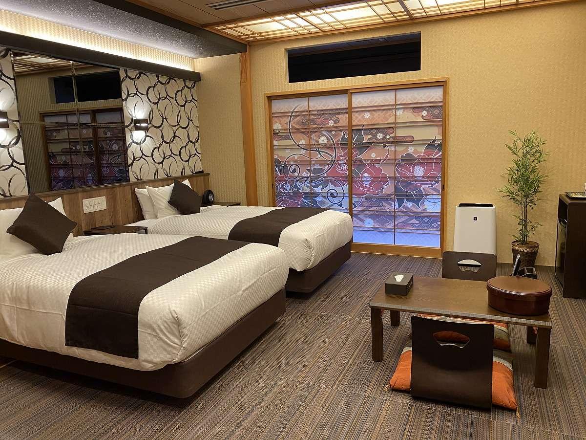 【和美麗】2020年3月にNEWOPEN「和モダン」をテーマに総檜客室露天風呂を備えたリニューアル客室