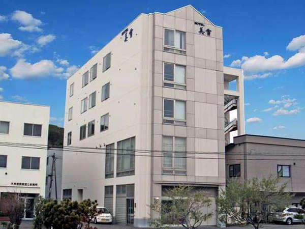 *JR稚内駅から徒歩4分のビジネスホテルです。