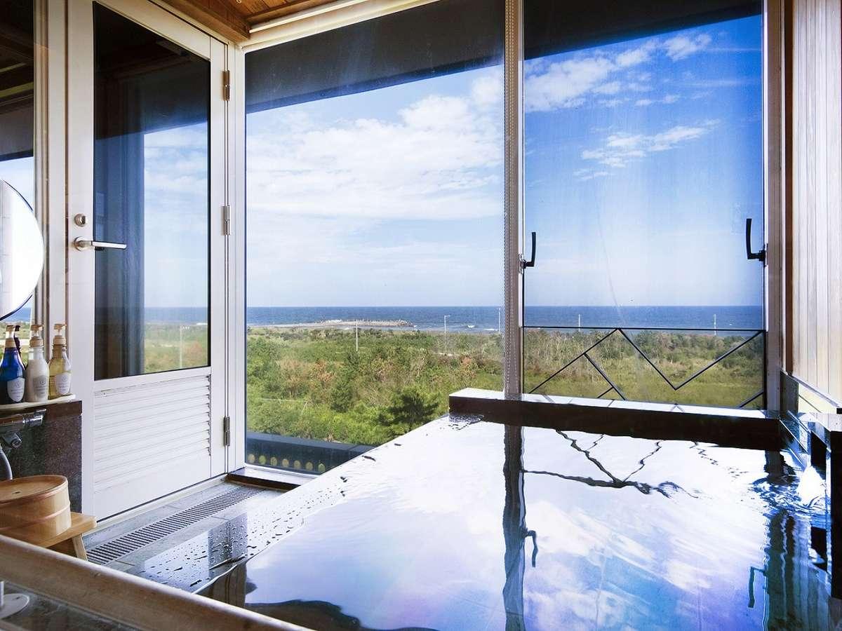 和洋特別室の展望風呂