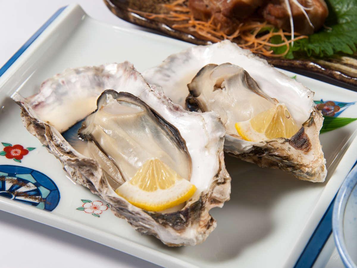 *【お食事一例】焼き牡蠣(冬季限定)