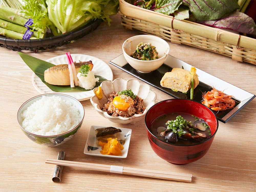 朝食一例・会場…・朝食提供時間…6:30~11:00(L.O.10:30)