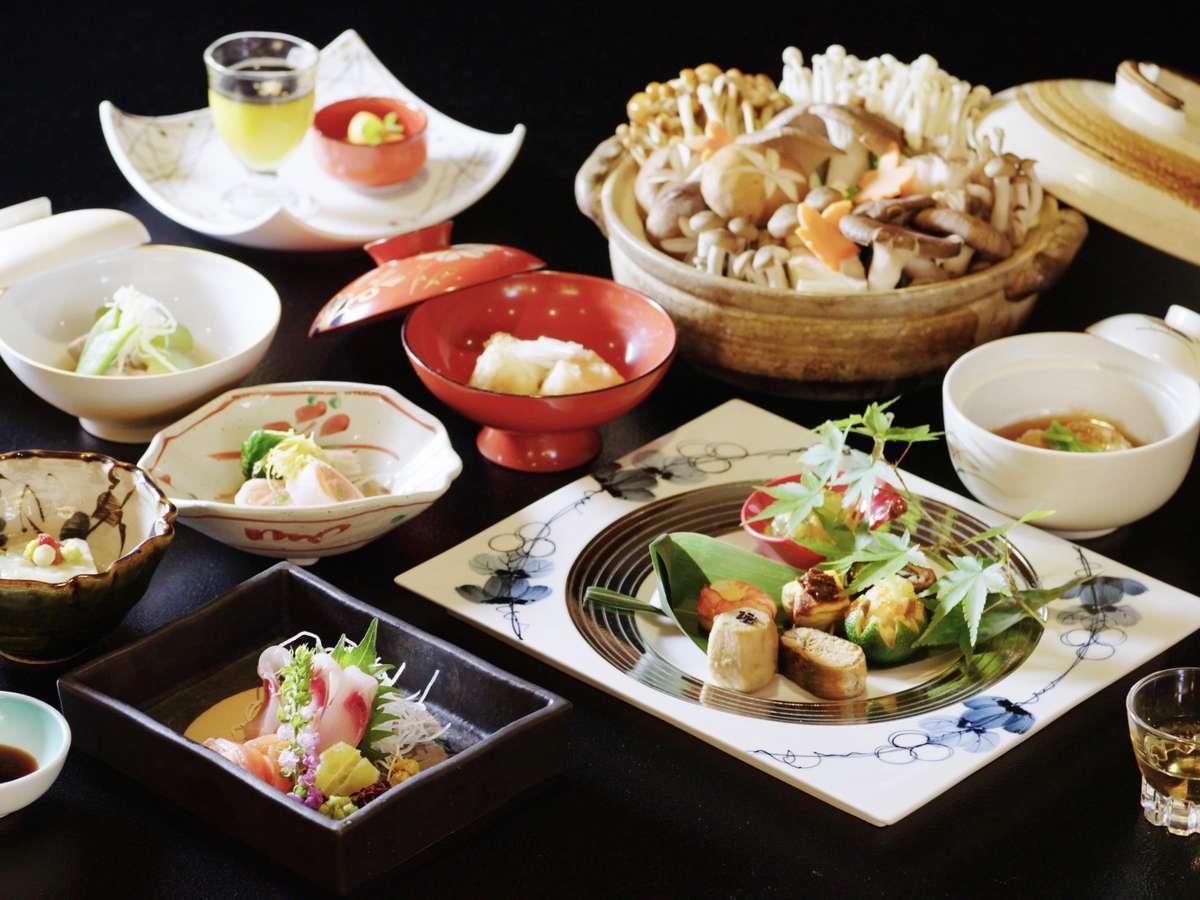 【ご夕食】季節の会席料理