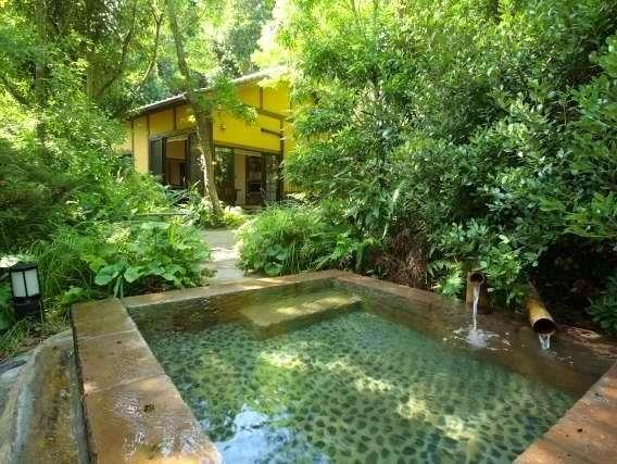 ◆森林浴と客室露天にて癒しの時間