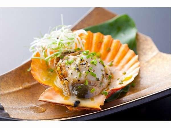 ★ひおうぎ貝のガーリックバター焼き★