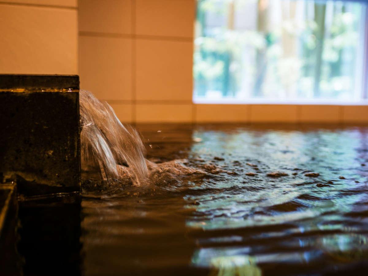 【天然温泉】男女入れ替え制の無料天然温泉!1日の疲れを癒してください♪