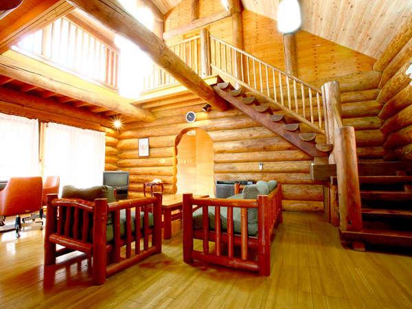 冬は暖かく夏は涼しい♪アットホームな雰囲気の温かみのあるログハウスです。
