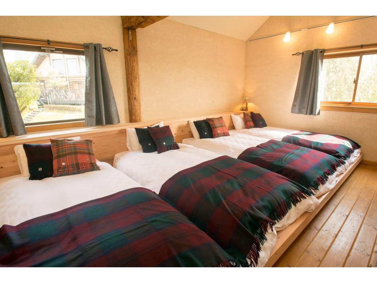 4ベッドコテージ(寝室)