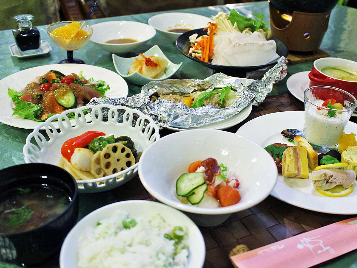 *【食事・全体例)】稚内の食材を使ったお食事をご堪能ください!