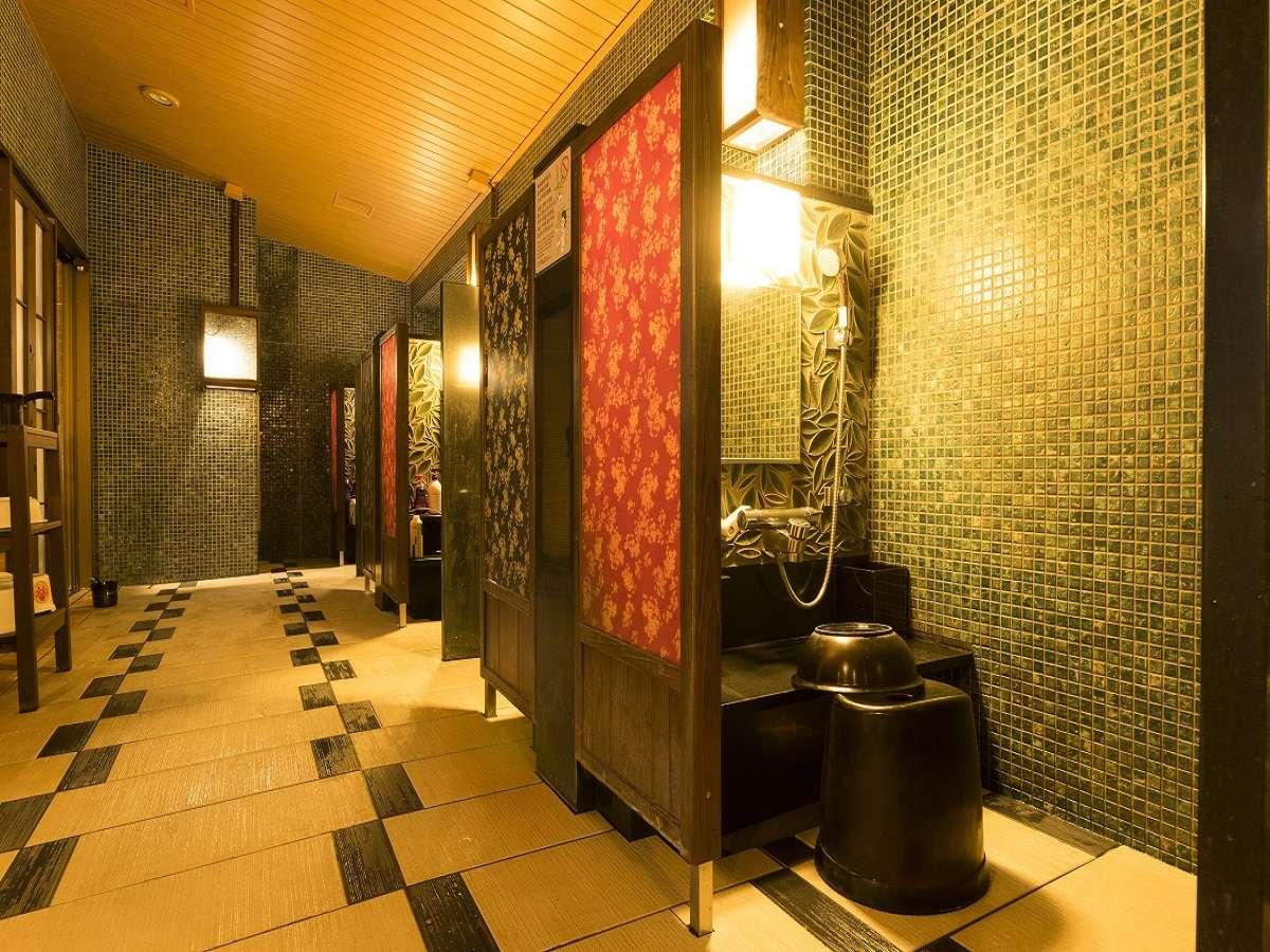 ◆男性大浴場カラン(イメージ)