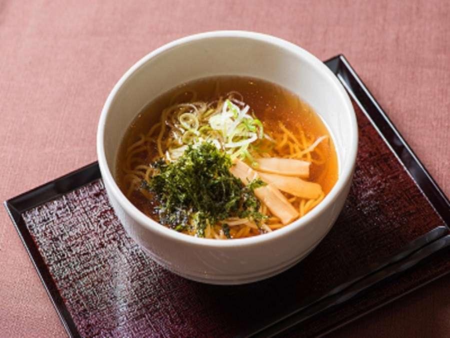 ◆夜鳴きそば◆1階のレストランでお召し上がり頂けます。