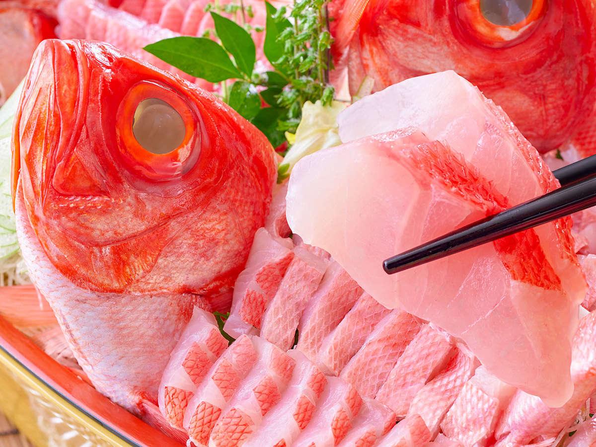 【★2021夏の料理フェア★】金目鯛舟盛※イメージ