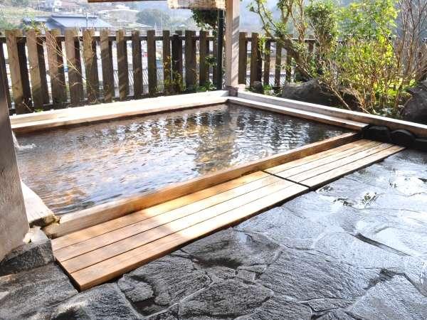 【展望露天風呂】棚田を望む絶景の露天風呂をお楽しみ下さい♪