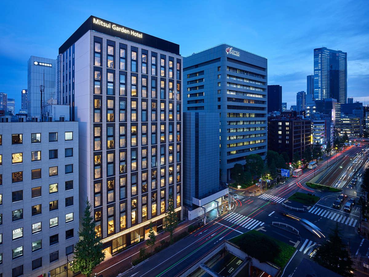 <外観>三井ガーデンホテル銀座五丁目