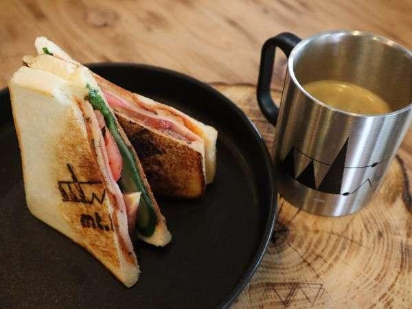 【ホットサンドランチ】自分で作るサンドイッチはまた格別♪
