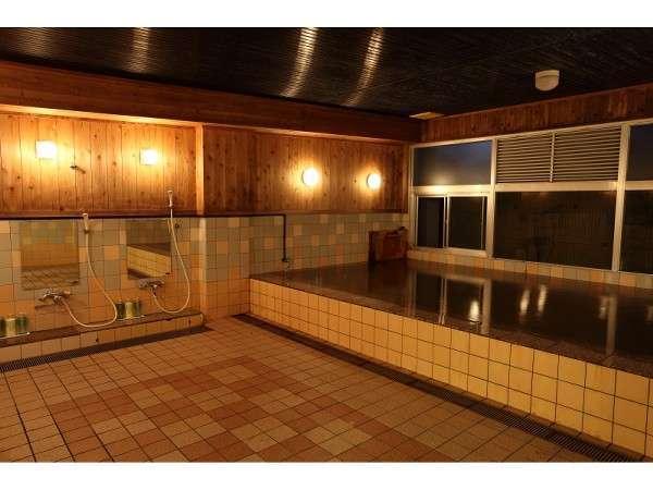 1階温泉大浴場利用時間6:00~24:00※日帰り入浴も可→大人\500 小人\300