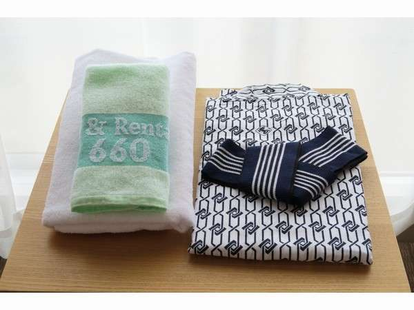 タオル/ゆかたはお部屋にご用意しております。