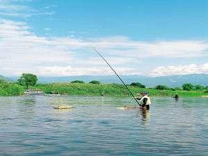 あゆ釣り風景