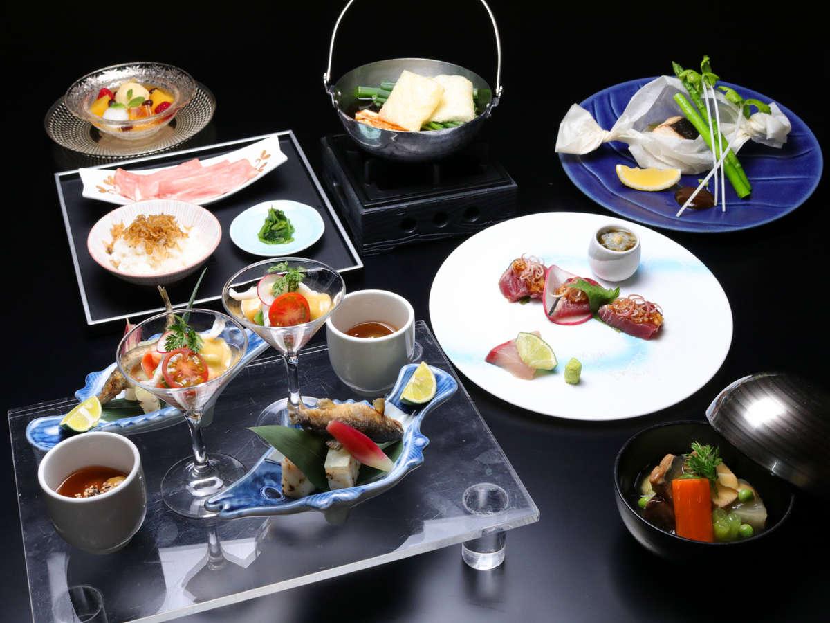【ご夕食:日本料理】お料理一例<全体>