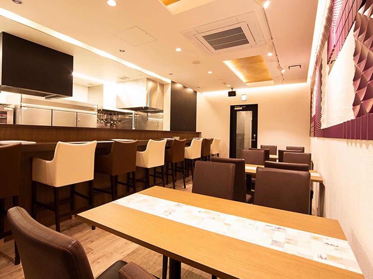 【食事会場】岩見沢ホテル1階「鶏ノイエ」
