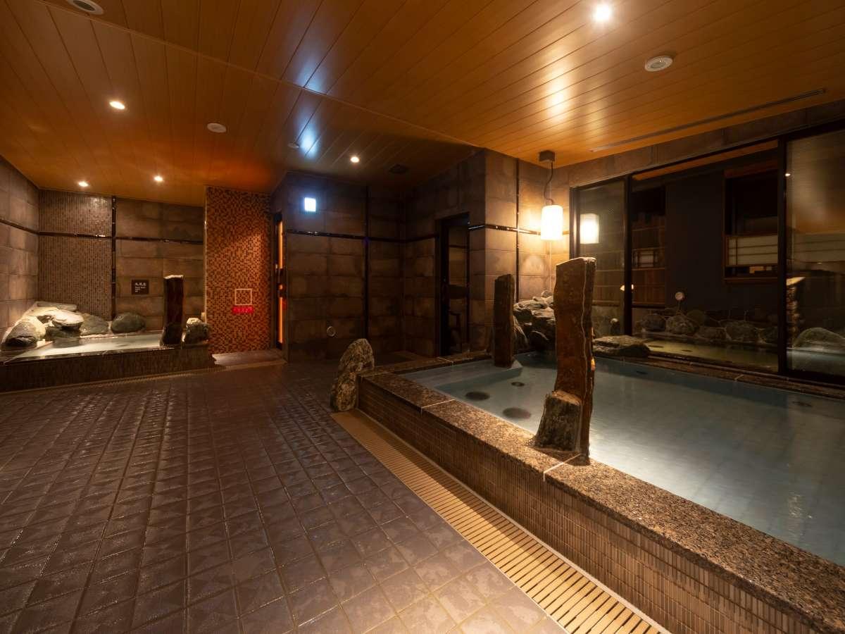 ■男性内風呂②■(天然温泉 湯温:40~41℃)