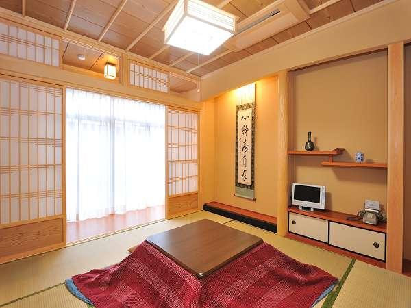 客間の一例。8畳1間のお部屋です。