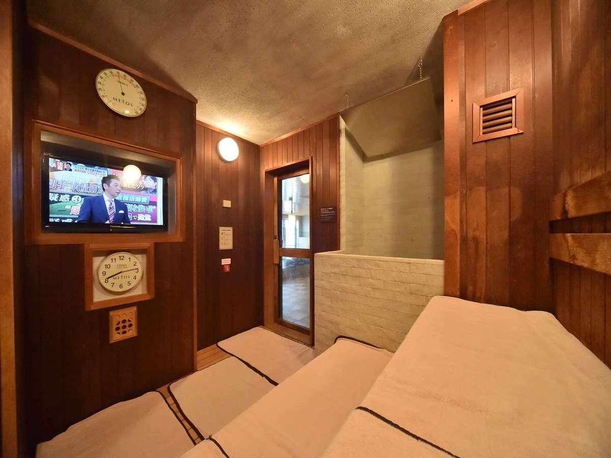 ◆男性大浴場「高温サウナ」(96℃)