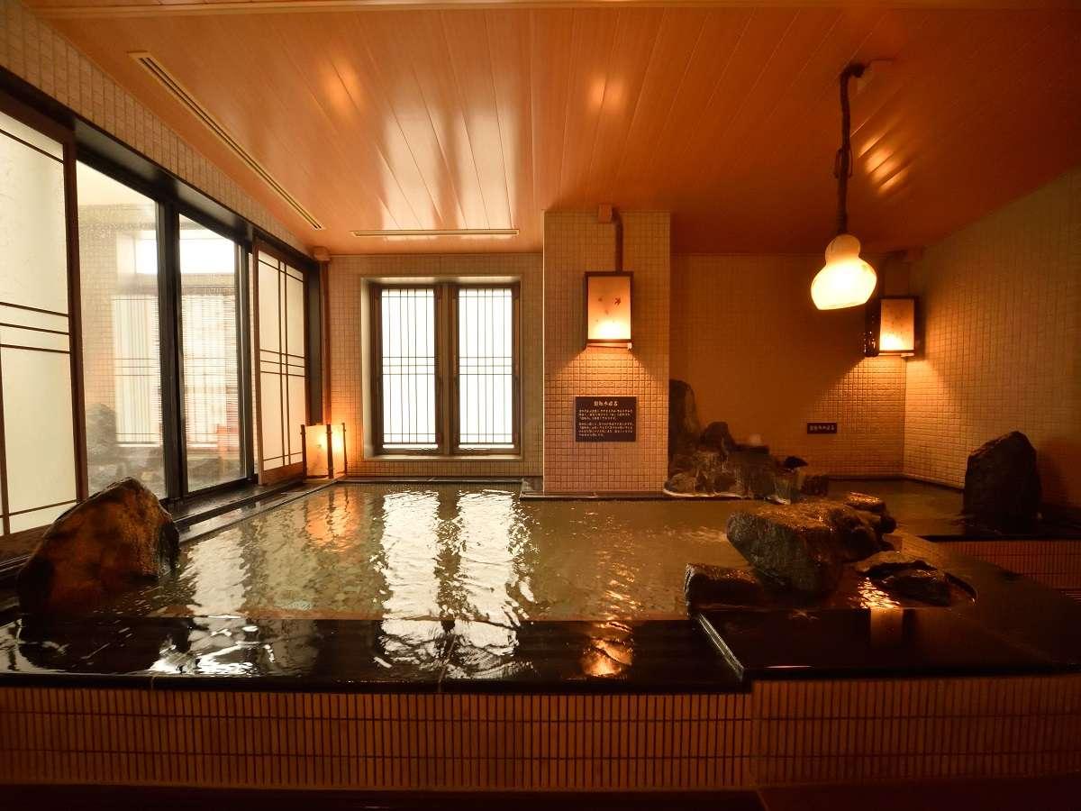 ◆女性大浴場「超軟水内風呂」(41~42℃)