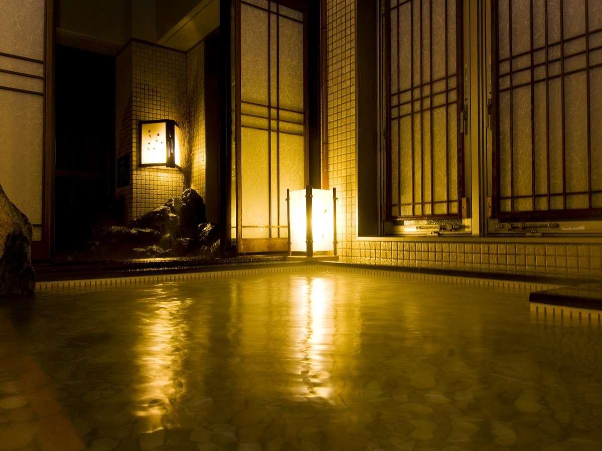 ◆女性大浴場「超軟水内風呂」(41℃~42℃)