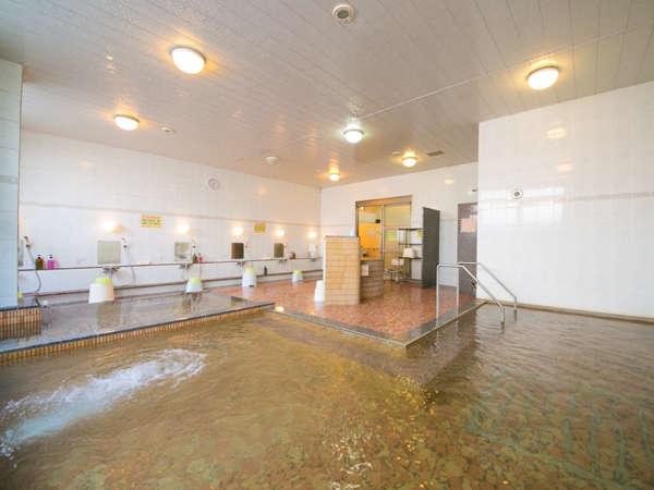 桃晃温泉大浴場。