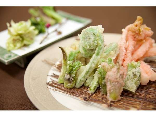 山菜の天ぷら イメージ