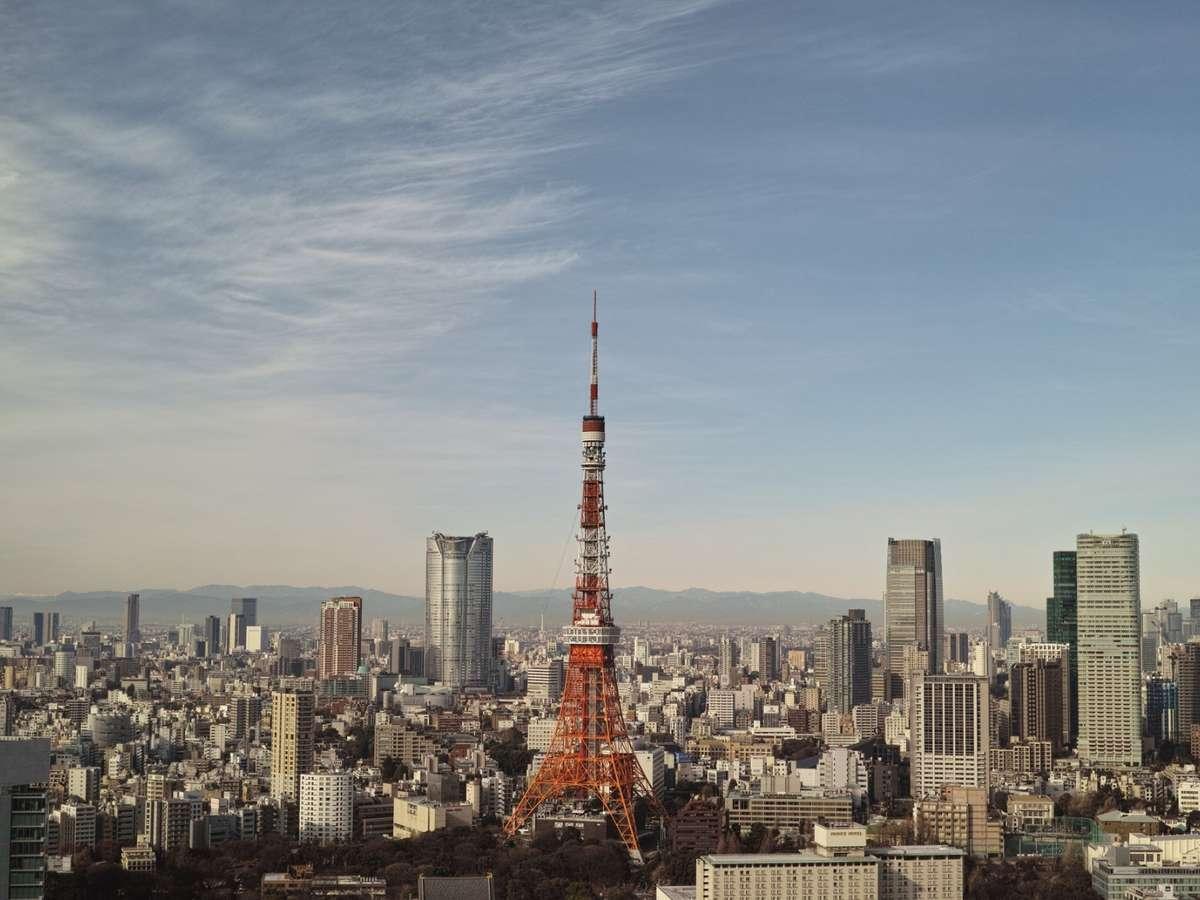 <東京タワー>乗換え1回最短30分