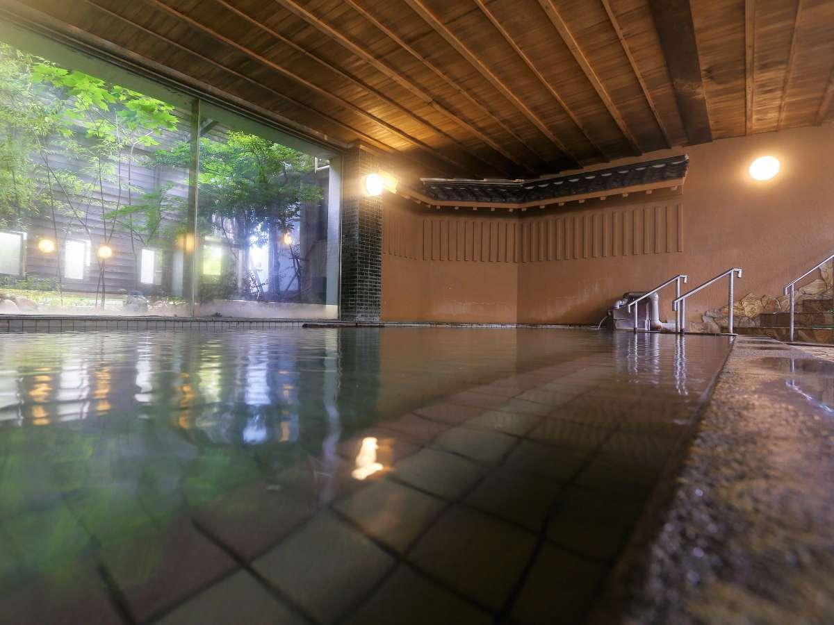 広々とした大浴場(金波の湯)朝晩で男女の入れ替えを行います。